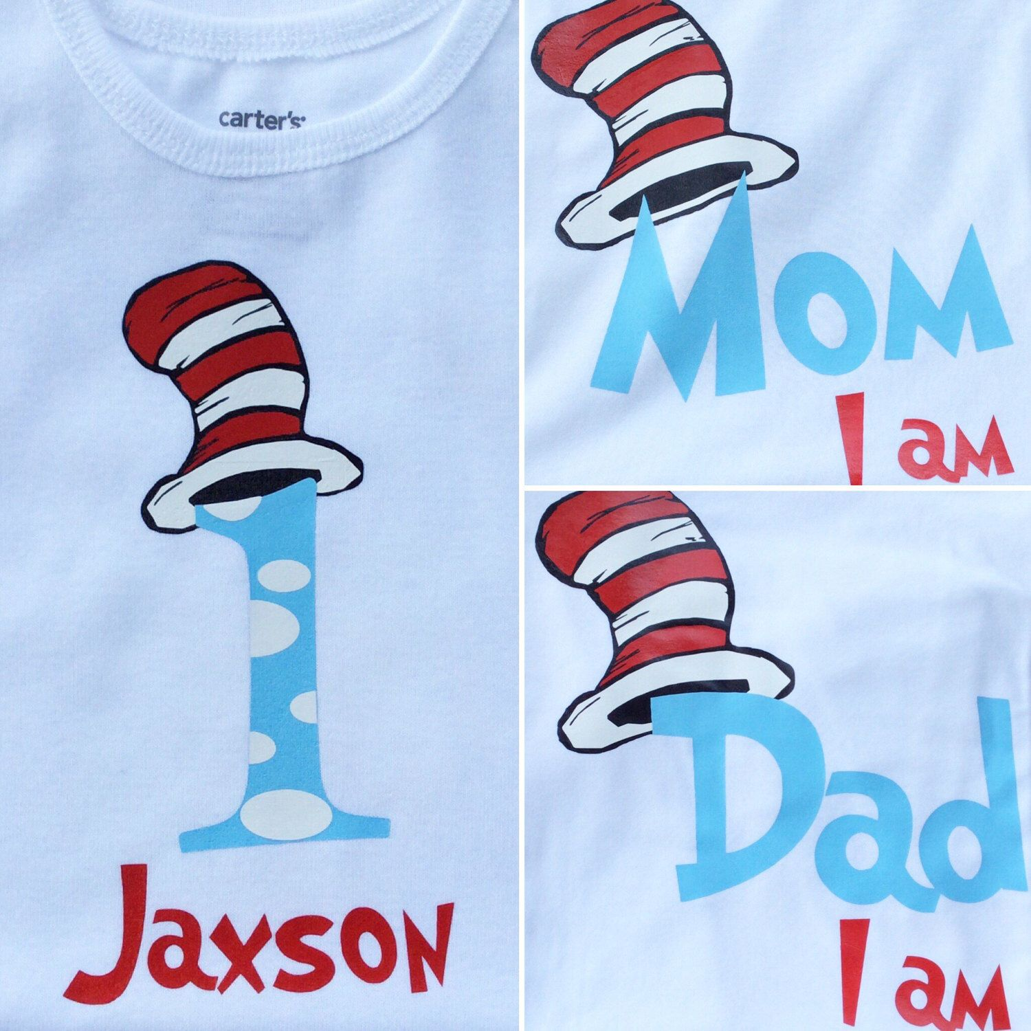 cat in the hat dr seuss birthday family shirts onesie