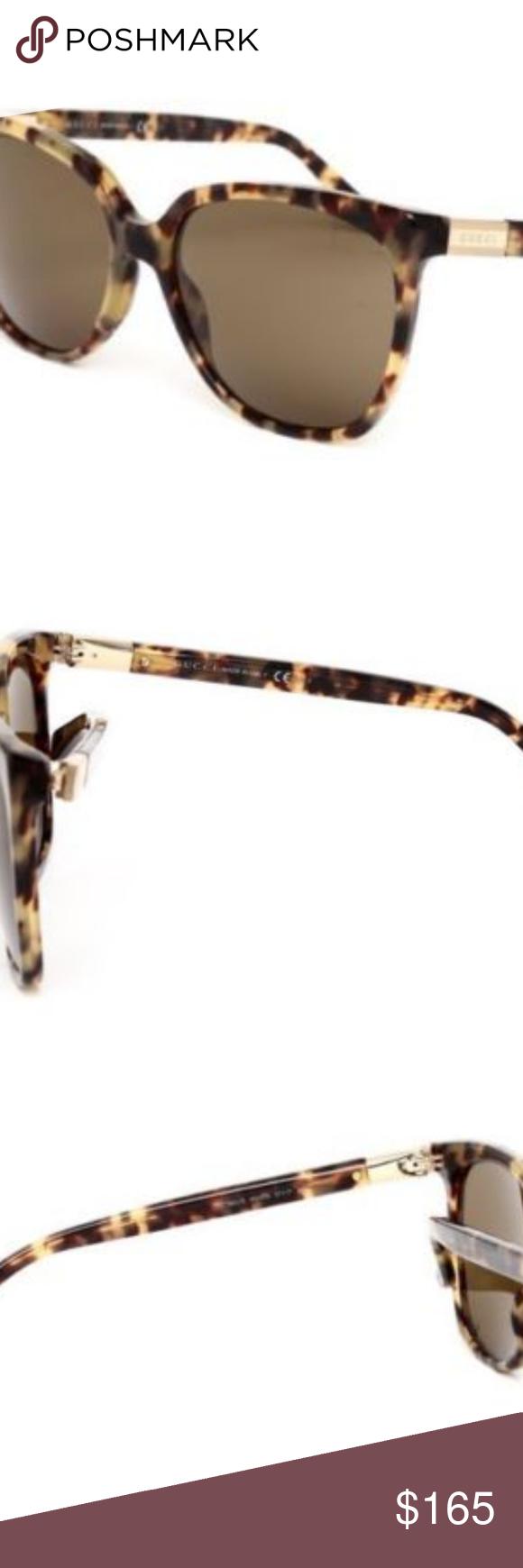 78c9c5e9936d4 GUCCI GG 3502 S Light Havana TORTOISE Sunglasses GUCCI GG 3502 S 4GXDS  Women s