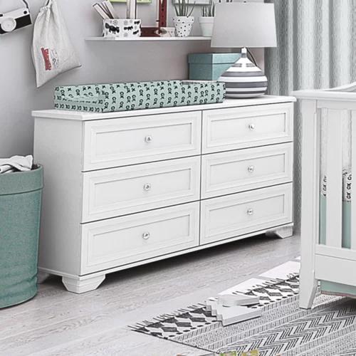Little Smileys Changing Table Dresser In 2020 Double Dresser Furniture Nursery Furniture Sets