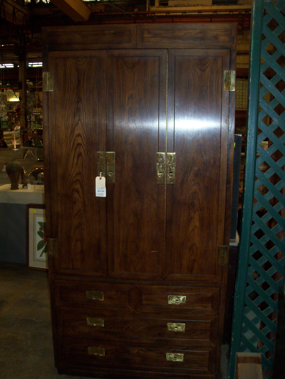 Vintage Henredon Armoire Item 106051 Current Price 305 00