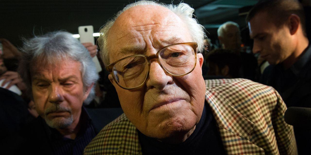 """France. Jean-Marie Le Pen """" pense """" que sa fille veut """" se concilier l'indulgence du système """"."""