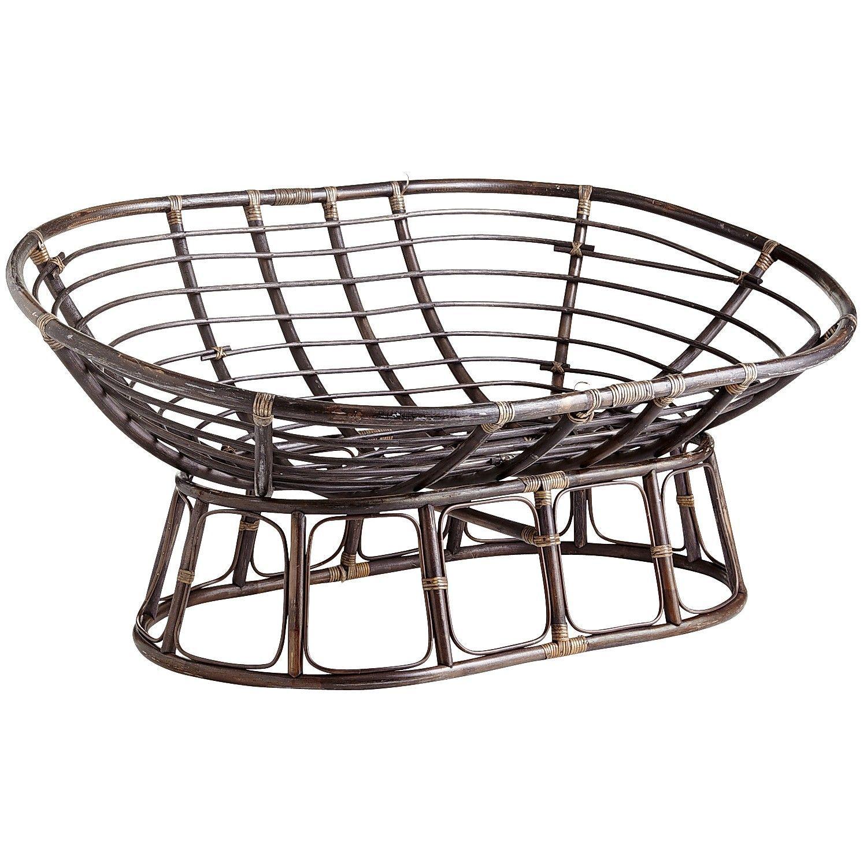Papasan Double Taupe Chair Frame | furniture/home decor | Pinterest ...