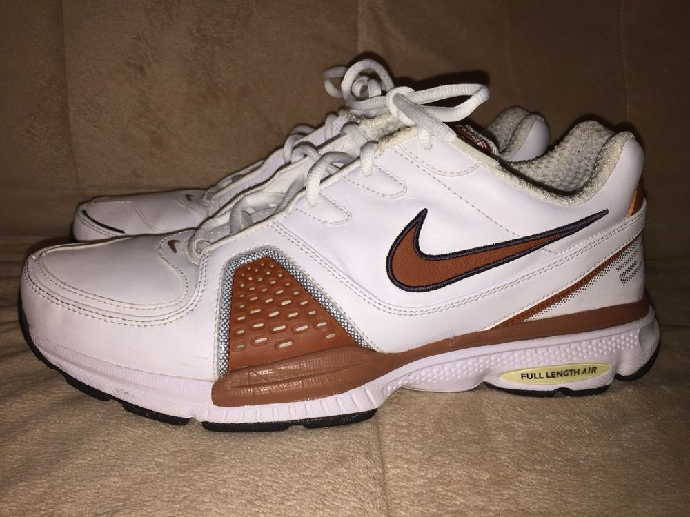 221531a7f58e7 NIKE AIR EDGE SZ 11 Sport WHITE  BURNT ORANGE Mens PRISTINE       fashion   clothing  shoes  accessories  mensshoes  athleticshoes (ebay link)