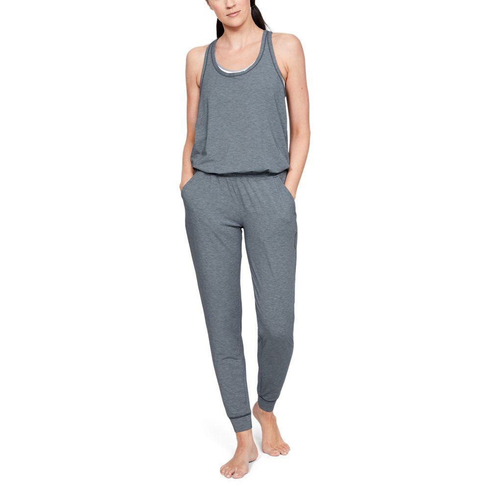 Photo of Under Armour Womens RECOVER Sleepwear Romper – Gray XXL