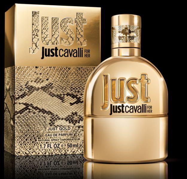 Just Gold For Her Fragrance Roberto Cavalli Perfume Roberto