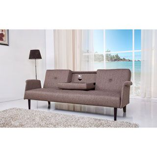 For Cambridge Brown Convertible Sofa Bed Get Free Shipping At