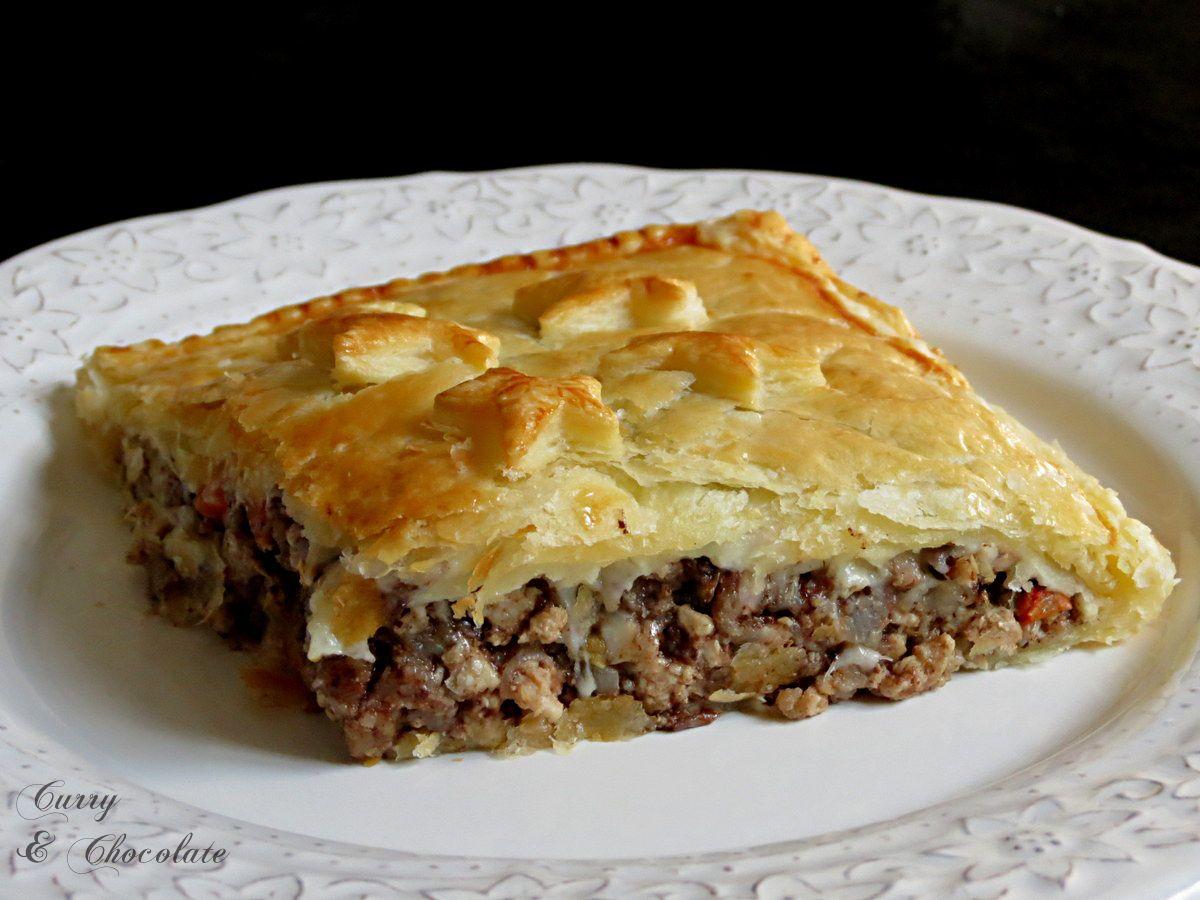 Empanada De Hojaldre Con Carne Picada Y Morcilla De Burgos  ~ Solomillo Wellington Masterchef Receta