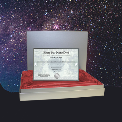 Buy Name A Star Gifts From Our Online Us Star Registry Star Gift Stars Gifts Star Registry