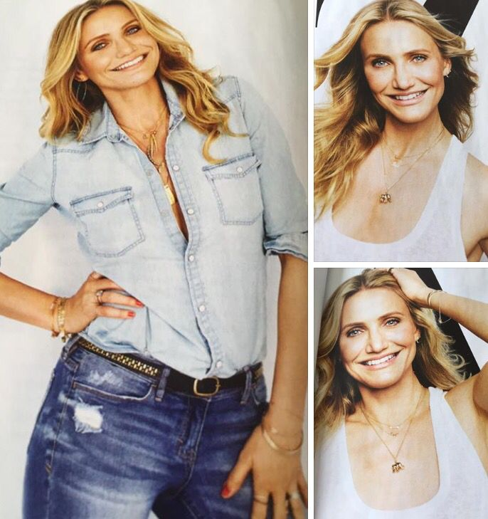 Love that #CameronDiaz is a huge fan of our jewellery - looking super cute in our elephant charm, arrow necklace and bracelets www.stelladot.co.uk/moakes