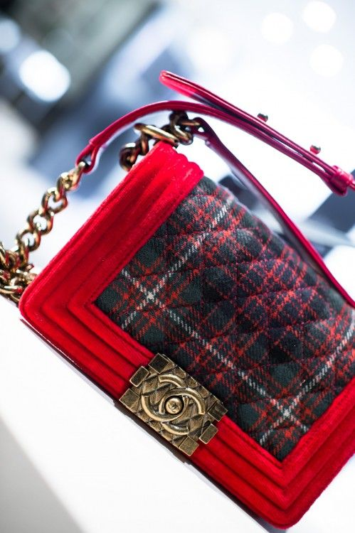 61839f588ae2 Chanel Tartan bag Oh gorgeous. Is this for me