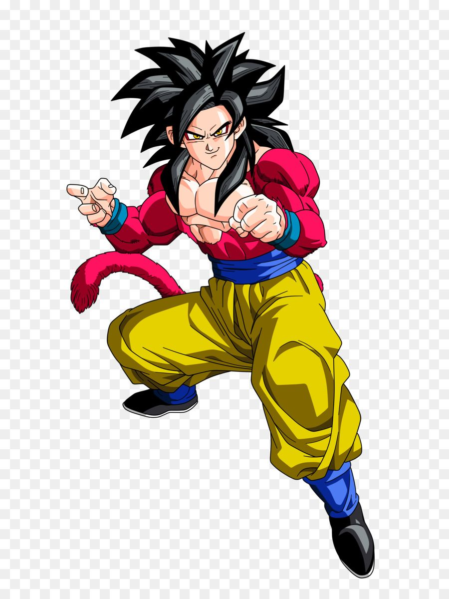 Goku Normal By Anjoicaros D6fa353 Png 1600 3412 Dragon Ball Gt Dragones Dragon Ball Z