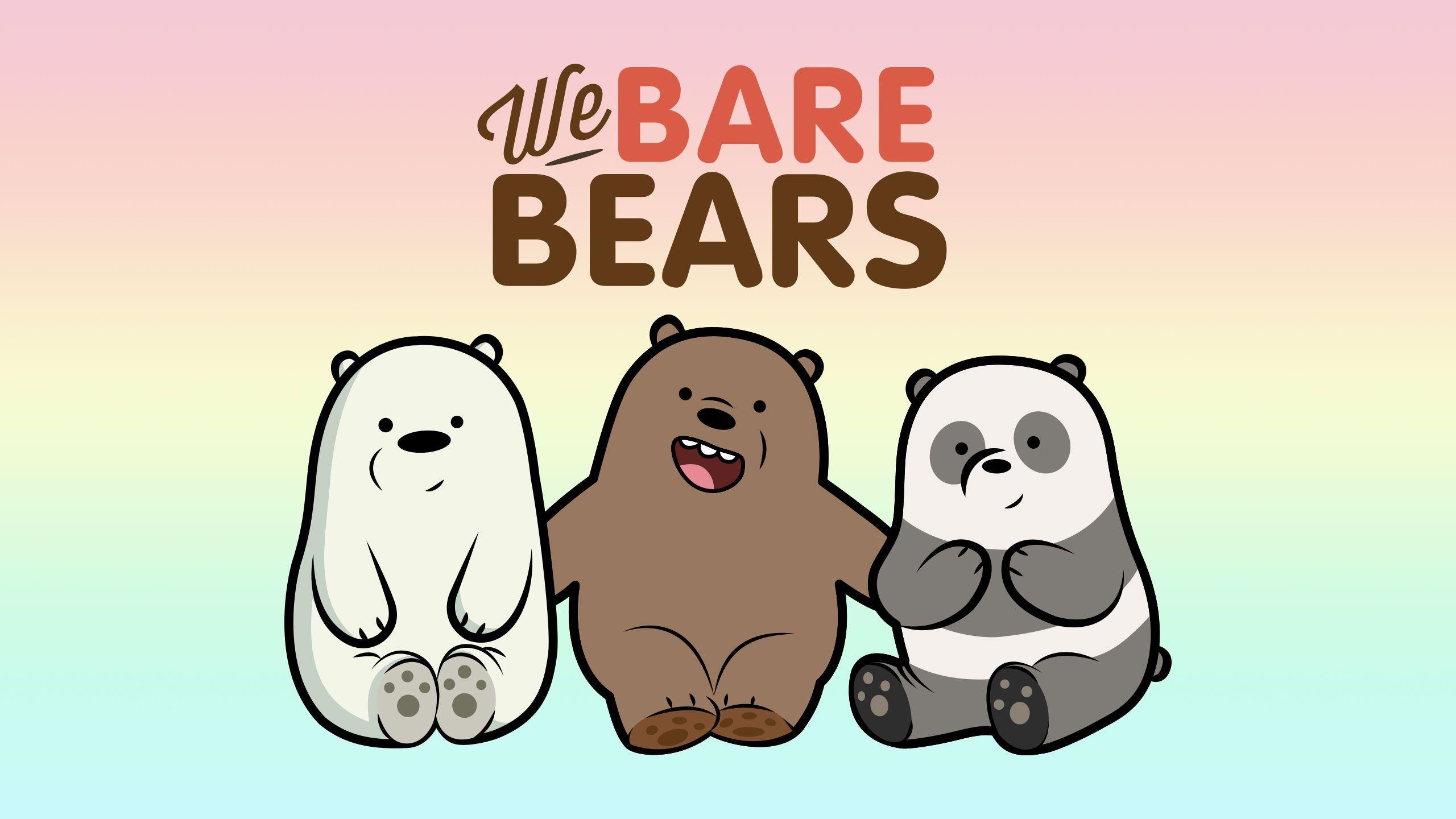 We Bare Bears Desktop Mobile Wallpapers Vector Ai Eps Intended For Amazing We Bare Bears Wallpaper Laptop Hd Kartun Tulisan