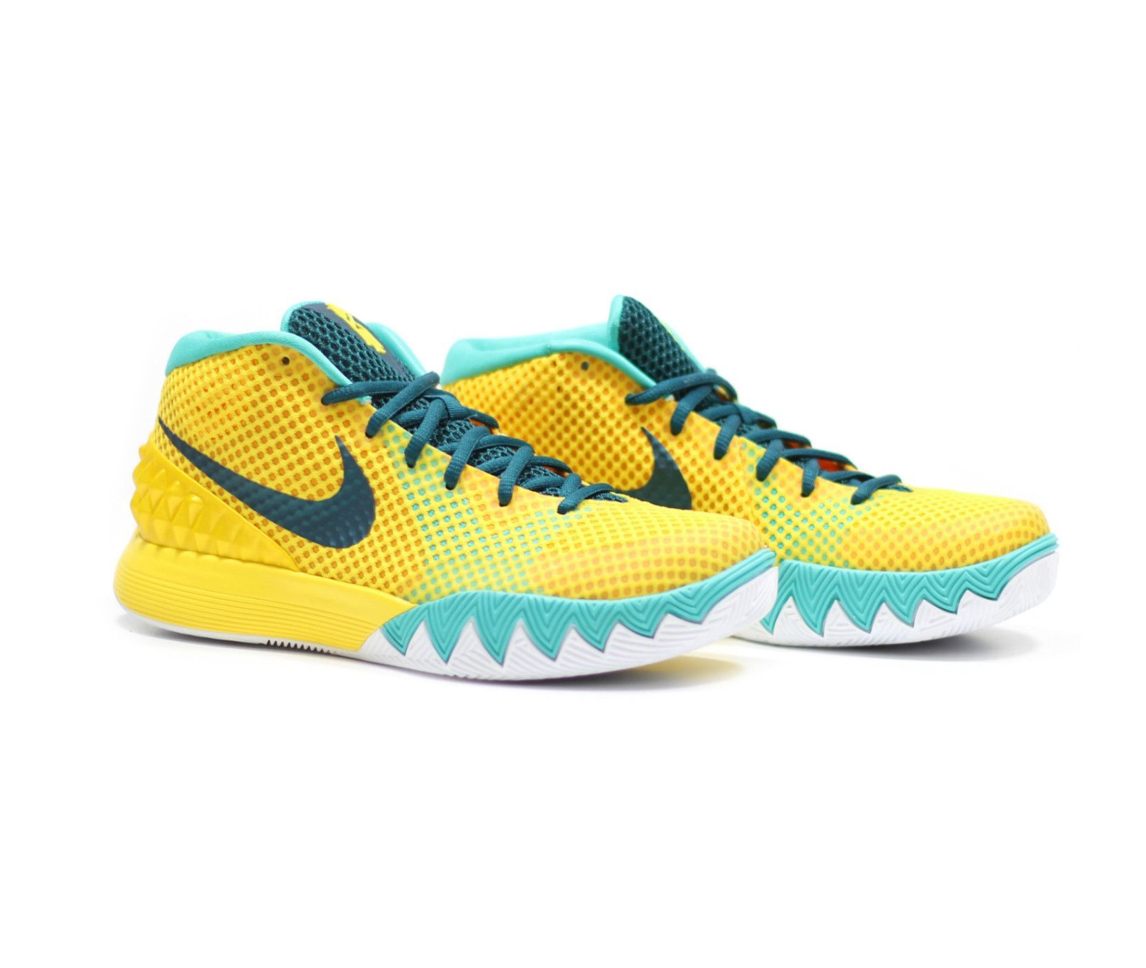 huge discount 84f8a 85836 ... inexpensive nike kyrie 1 letterman tour yellow teal university gold  216bd 70ff5