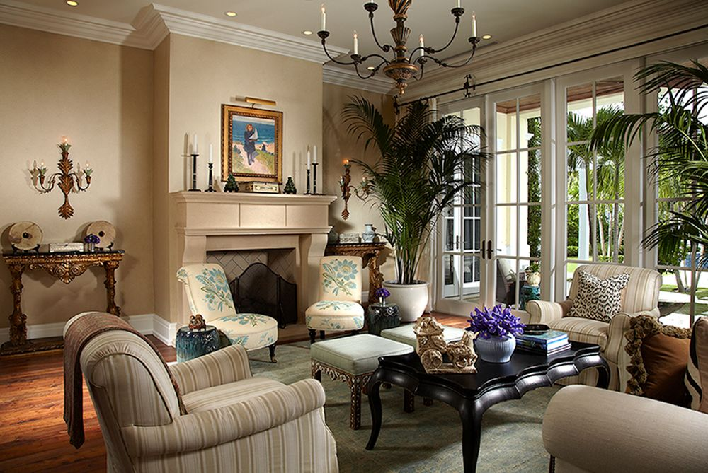 Lovely Home Couture Lorraine Chairs. Interior Design By Jennifer Garrigues.