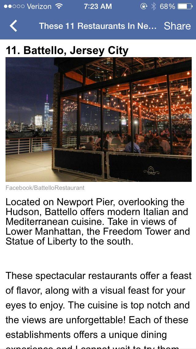 Restaurant   Newport pier, Lower manhattan, The freedom tower
