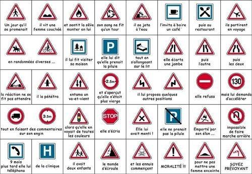 26 Idees De Road Signs Code De La Route Panneau Routier Panneau Signalisation