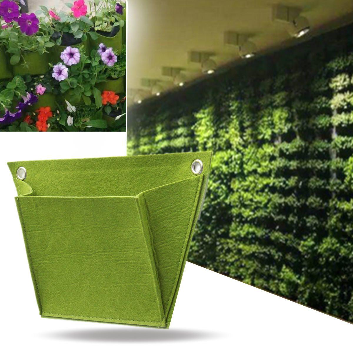 Nonwovend Durable Outdoor Indoor Wall Balcony Herbs