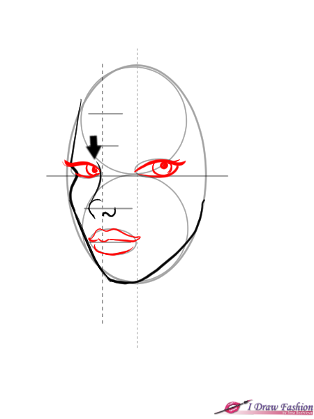 How To Draw 3 4 View Faces I Draw Fashion Face Drawing Reference Face Drawing Girl Face Drawing