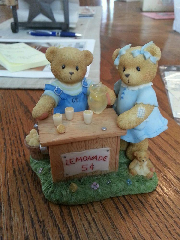 "Cherished teddies # 70690618484 ""Albert and Susan"""