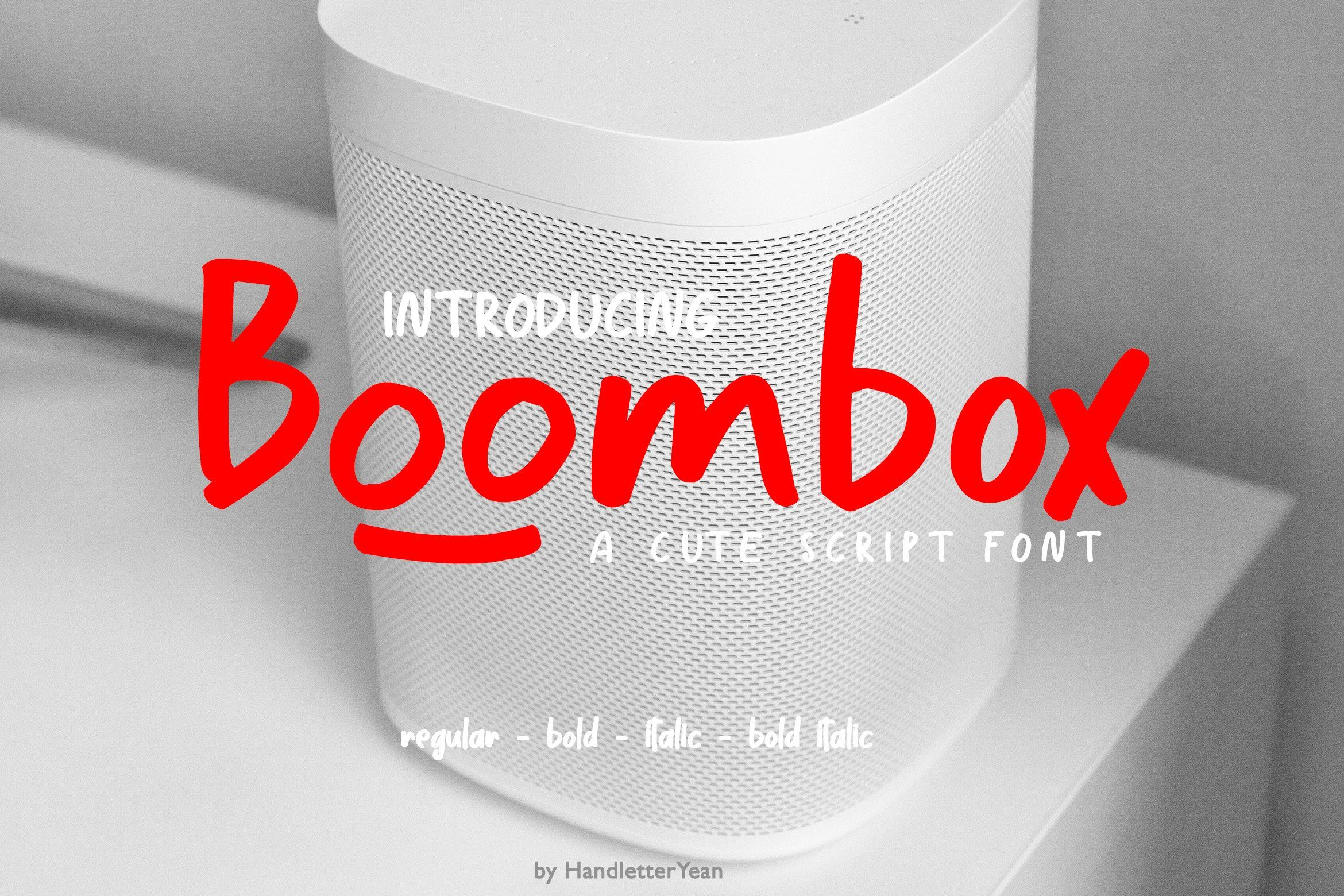 Boombox in 2021 commercial use fonts new fonts boombox