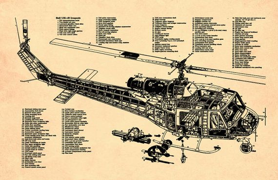 Blueprint art of helicopter huey vietnam by bigbluecanoe on etsy big blueprint art of helicopter huey vietnam by bigbluecanoe on etsy big blue canoe supplying blueprints malvernweather Image collections
