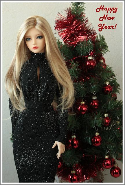 Happy New Year!!! (With images) Beautiful dolls, Cute