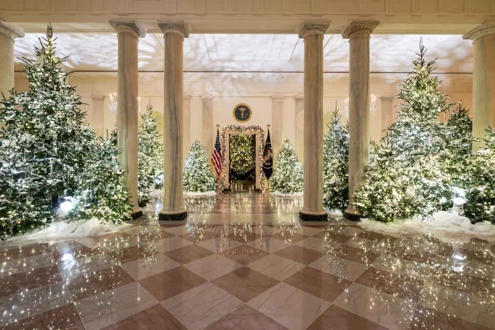 White House Christmas Tour 2017 White House Christmas Tree White House Christmas White Christmas Tree Decorations