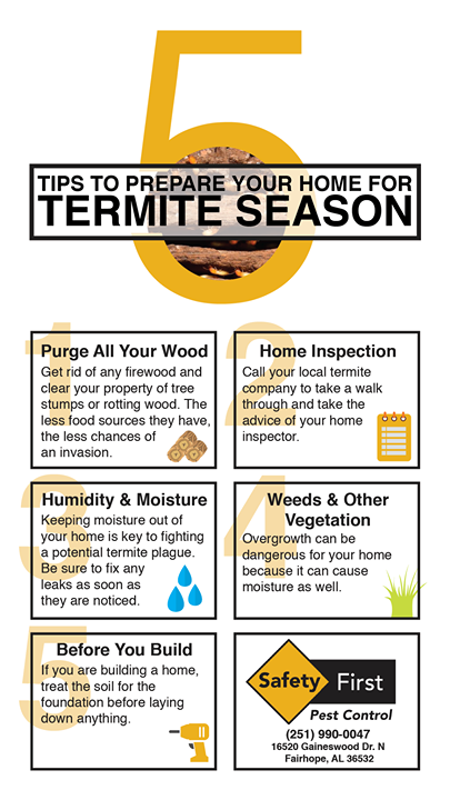 Is Your Home Ready For Termite Season Safetyfirstpestcontrol Pests Termites Termite Control Termite Season Termites