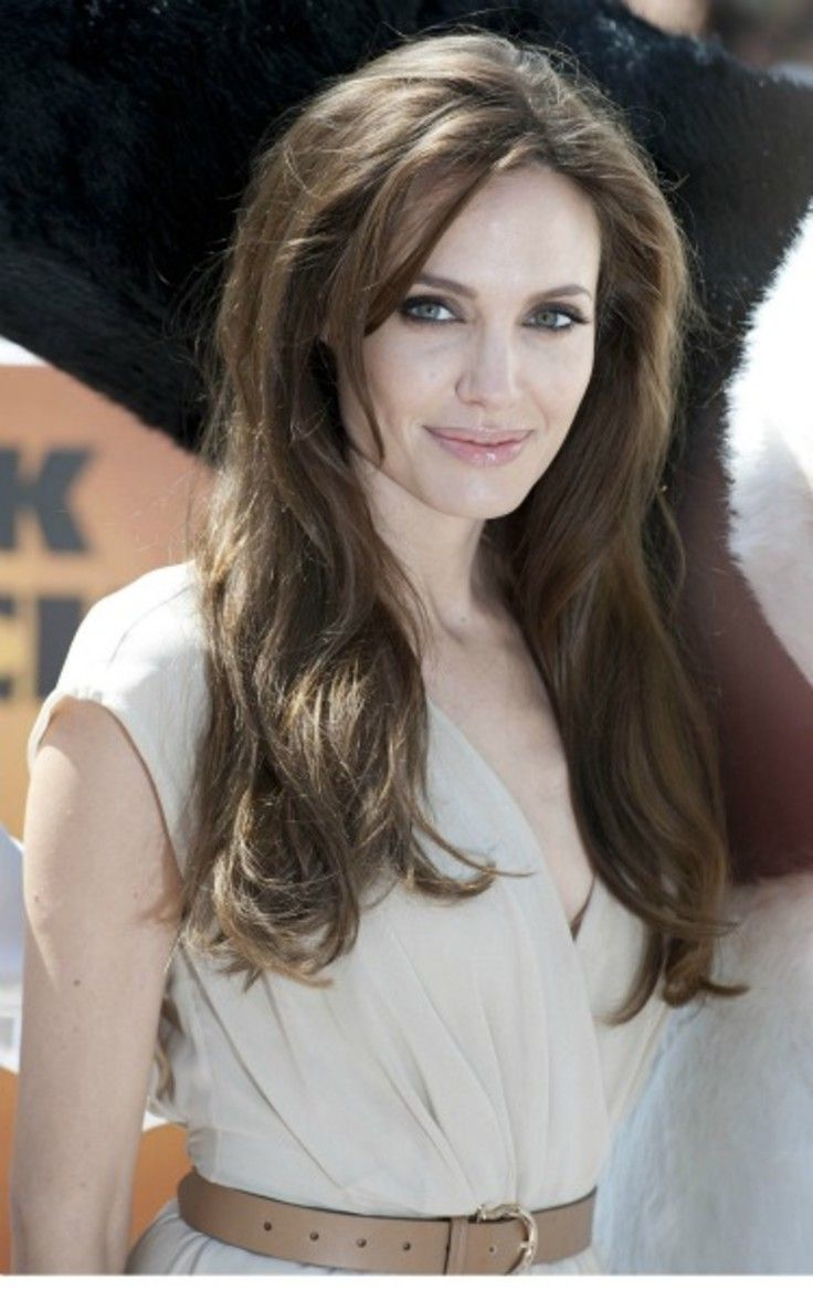 Long Hairstyles Angelina Jolie Hair Hair Styles Hairstyle
