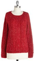 red sweater-polclothing carol of the belles sweater