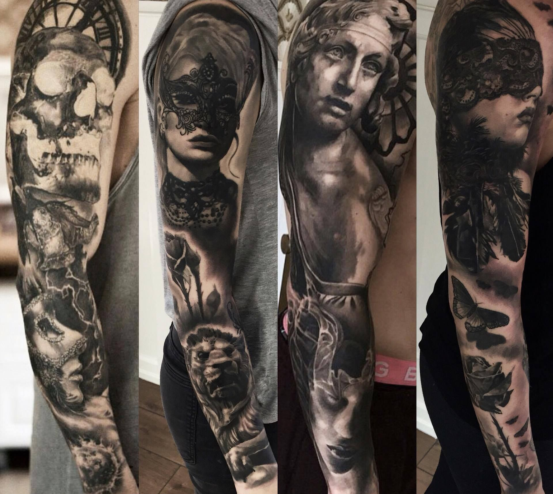Mark Wosgerau Sinners Ink Aarhus Denmark 8th Tattoos