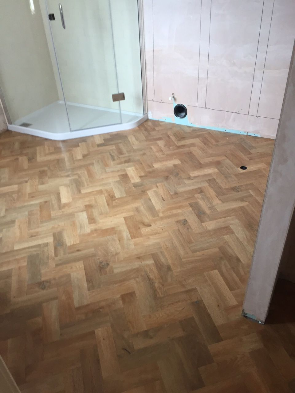 Karndean art select blonde oak parquet flooring fitted by for Art select parquet