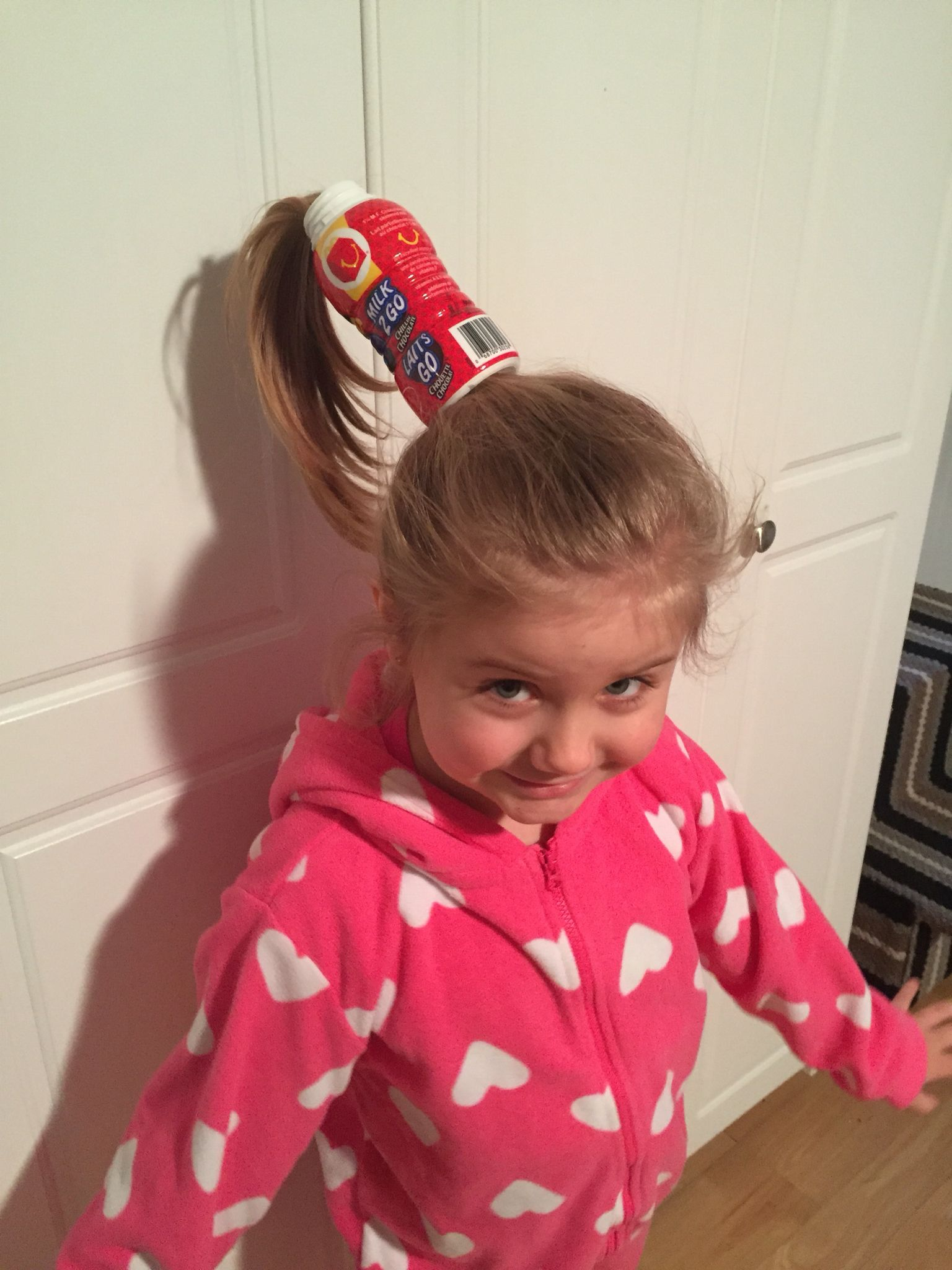 crazy hair & pj day at school. this is hat we came up with