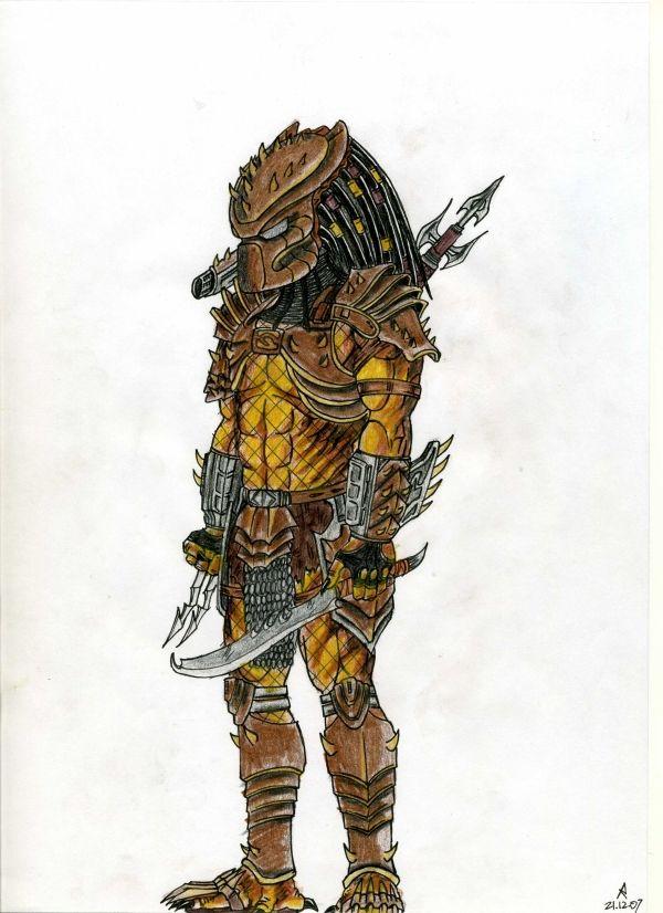 ha 39 khann yautja warrior by cm023 on deviantart predator pinterest deviantart sci fi. Black Bedroom Furniture Sets. Home Design Ideas
