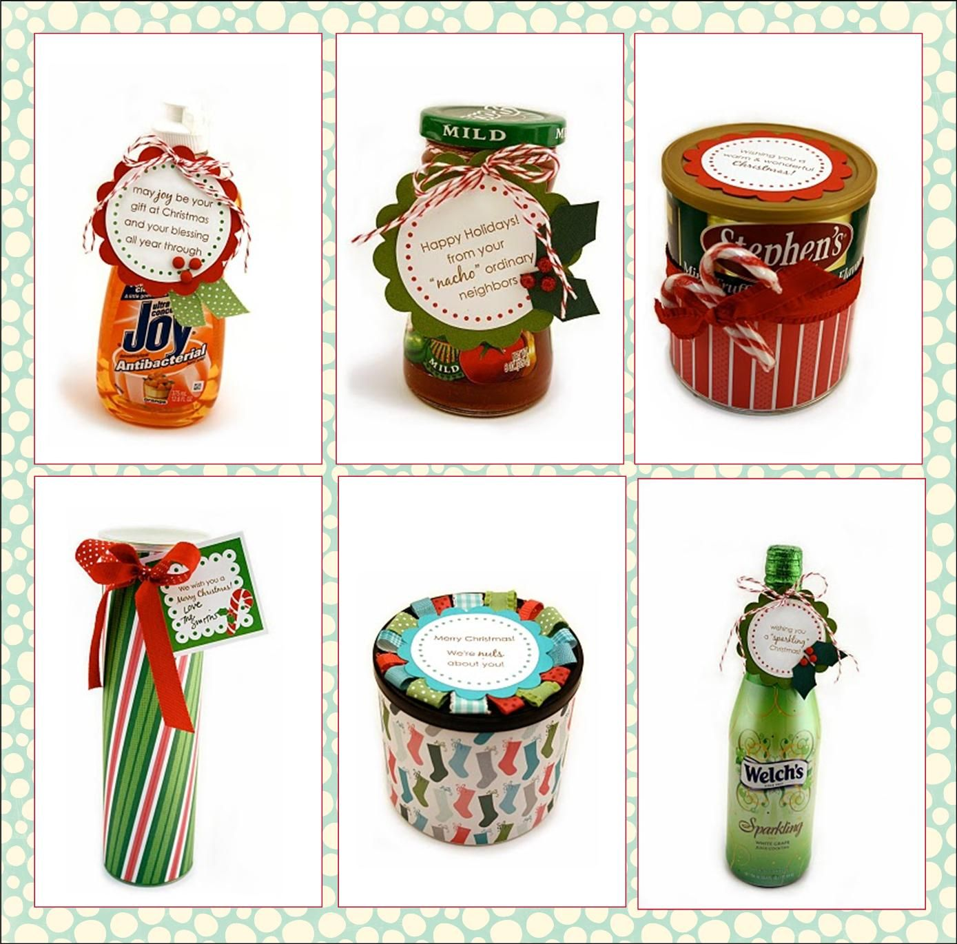 Holiday Gifts!  186 Neighbor Christmas Gift Ideas-It's All Here!