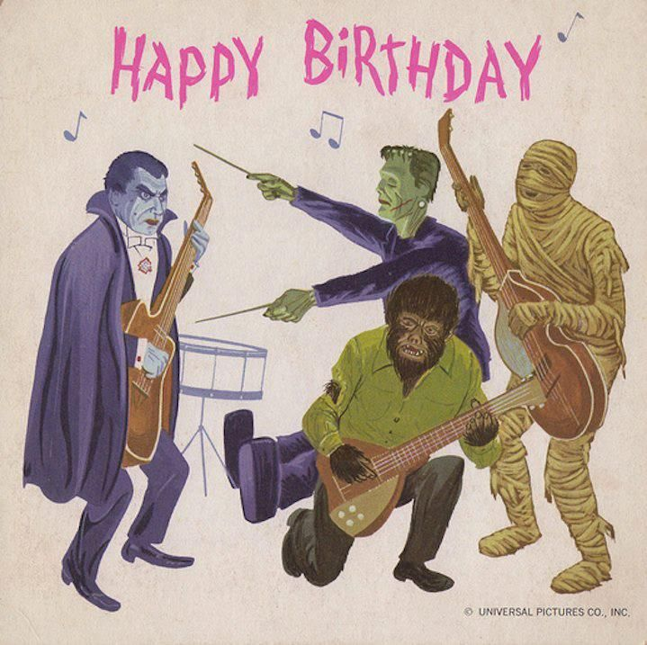 It's A Monster Mash Happy 24th Birthday Mikey Love Aunt