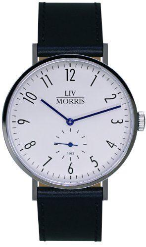 LIV MORRIS 1963 Modell TETHYS Bauhaus-Stil Herrenuhr Ø 41mm Automatikuhr Edelstahl Saphirglas SeaGull-Uhrwerk