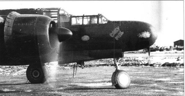 "Northrop P-61, ""Daisy Mae"", 422nd NFS"