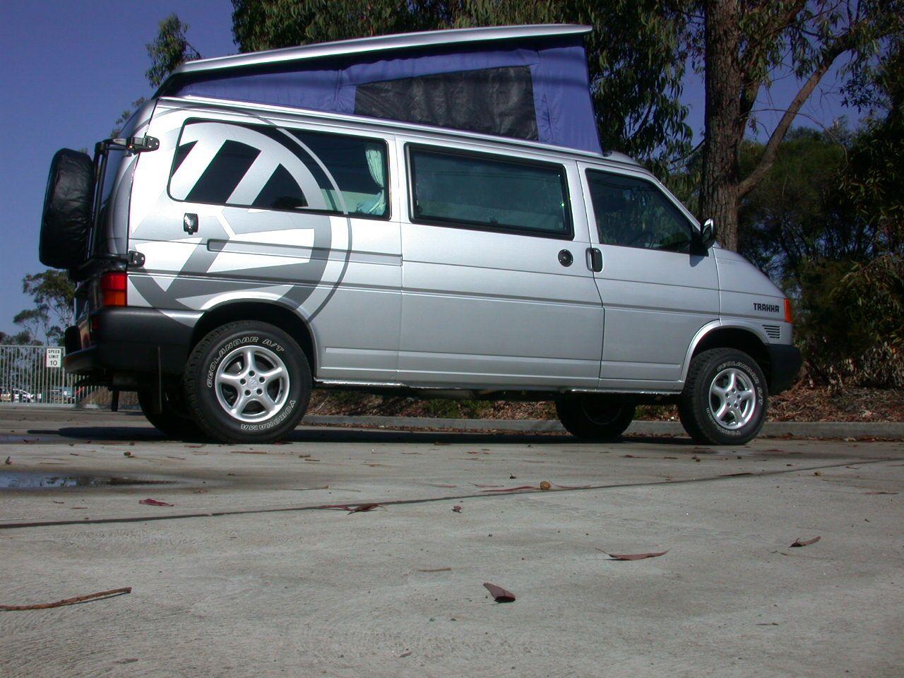 Trakka VW T4 pop top campervan Trakka history