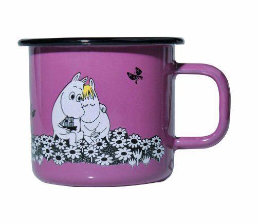 Moomin Love - Moomin Muurla Enamel Mug by Muurla, http://www.amazon.com/dp/B006IE6EUW/ref=cm_sw_r_pi_dp_AnB9rb007RFQK