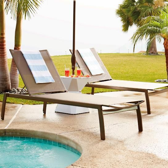 Outstanding Newport Set Of Two Chaise Lounge Chairs Pools Patio Pdpeps Interior Chair Design Pdpepsorg