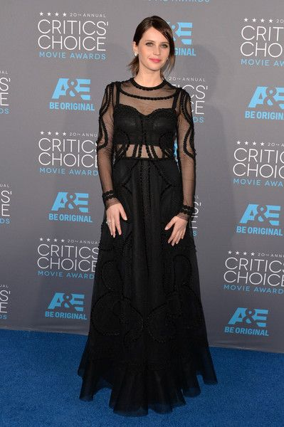Felicity Jones - Arrivals at the Critics' Choice Movie Awards — Part 3