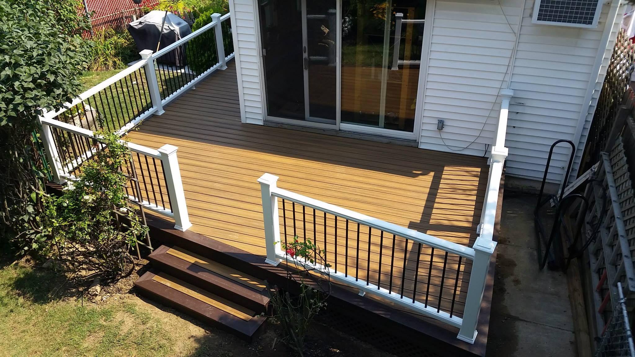 Long Island Deck Builder Wood Awnings Custom Decks Deck Design Nassau County Suffolk County Pergolas Deck Contractor Island Deck Deck Builders Deck Design