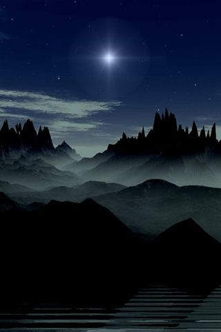 Dark Beautiful Scenery Free Iphone Wallpaper Iphone 4 Wallpaper