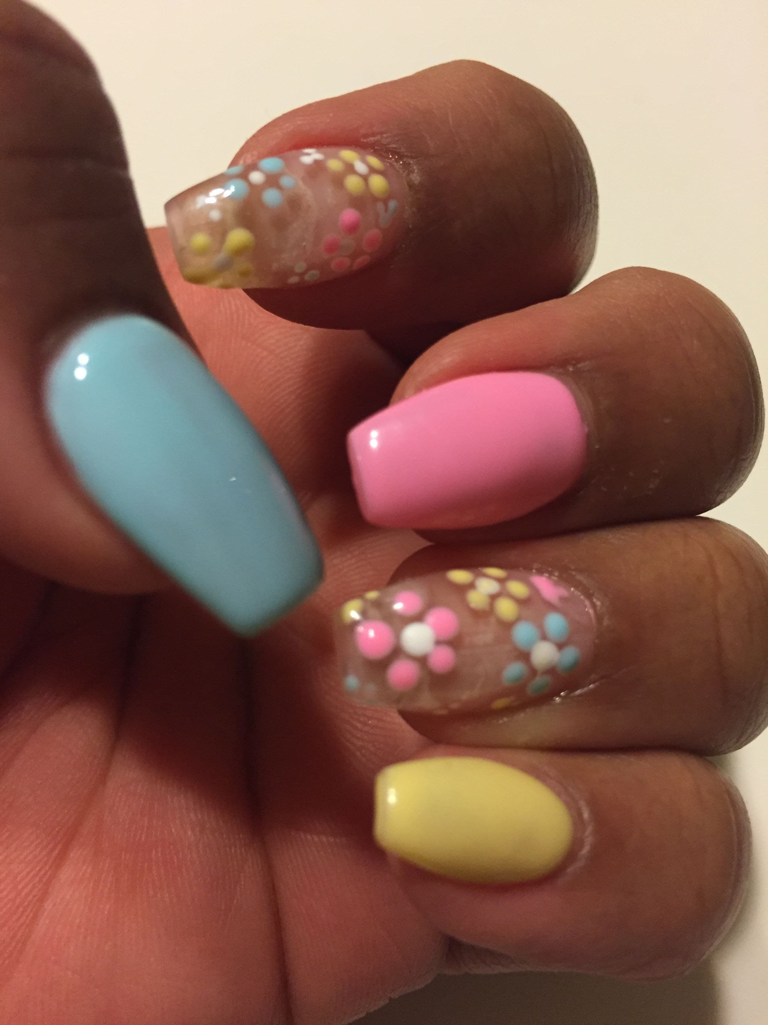 Gallery 25 Lovely Acrylic Nails Red   Coffin Easter Nail design Coffin ... is free HD wallpaper.