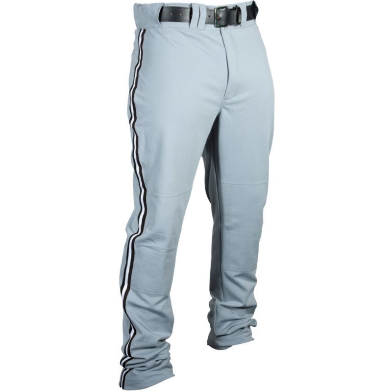 "Louisville Slugger Boys' ""Triple Crown"" Boot-Cut Baseball Pants, Size: Large, Gray"