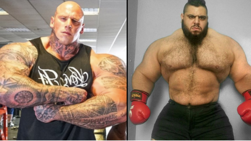Martyn Ford Could Fight The Iranian Hulk In Mma Debut Hulk