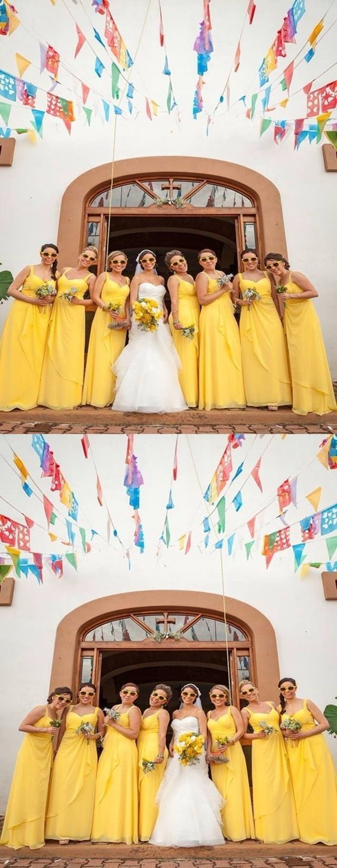 Chiffon bridesmaid dresses spaghetti straps long bridesmaid dresses