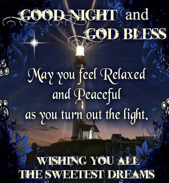 Good Night God Bless Quotes Prayer For Friends And Family Good