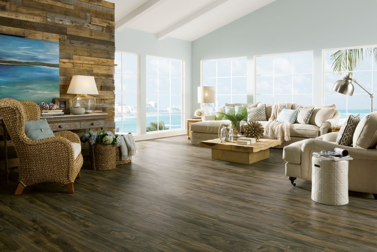 Weathered 12mm Laminate Flooring by Armstrong Rustic